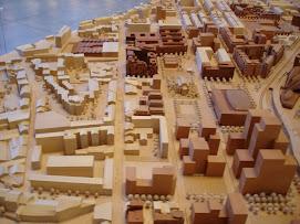 Le secteur géographique du CIQ en devenir selon la maquette d'Euromed (sept. 2008):