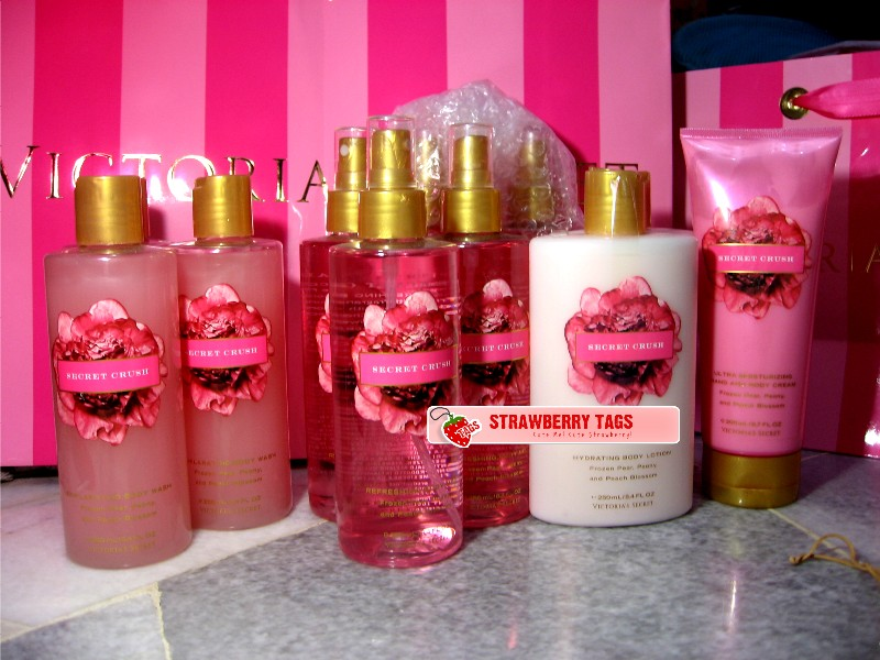 Strawberry Tags Victoria 39 S Secret Secret Garden Collection Discontinue Scents