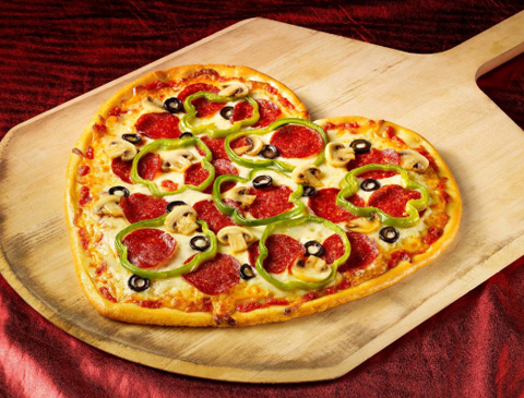 Schön I Love Heart Shaped Pizzas, Arenu0027t They Cute? Valentines Day Is The Only  Time Of The Year Where You Can Make Such A Cute And Girly Dinner Without  Wondering, ...
