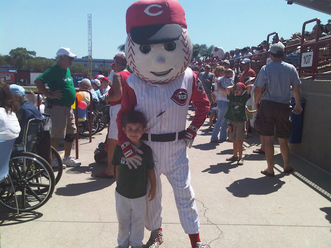 Will at the Reds spring training game