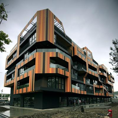 Lace apartments Slovenia by Ofis Arhitekti