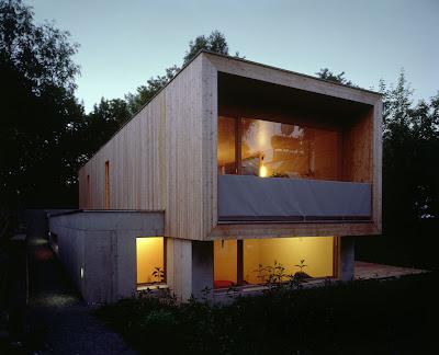 Moosmann House by Hermann Kaufmann