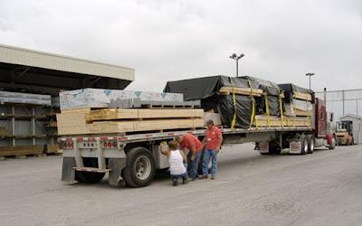 Modern Prefab Home Shipment