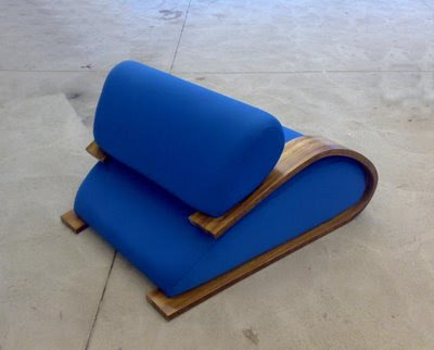 The Toboggan Chair by Phillip Grass