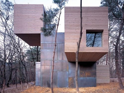 Element House Wooden and Steel Homes Design by