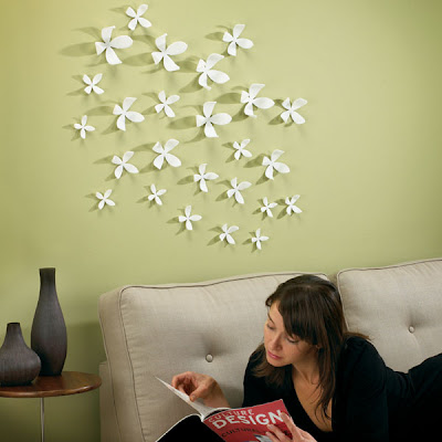 Umbra Wallflower Wall Decoration Ideas | Best Interiors