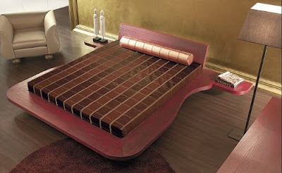 Ultra Modern Beds from Must Italia