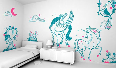 Giant Wall Stickers Sets For Kids Bedroom Decoration From E Glue