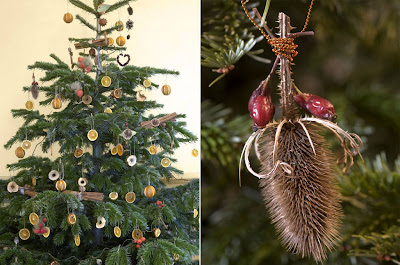 Russian House Natural Christmas Tree Decorations