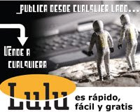 Los trabajos del autor en LULU