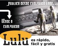 Los trabajos del autor en LULU