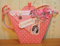 Удачи и творческих успехов!  Буду очень рада, если кто-нибудь сделает такую открытку-сумочку и оставит комментариях...