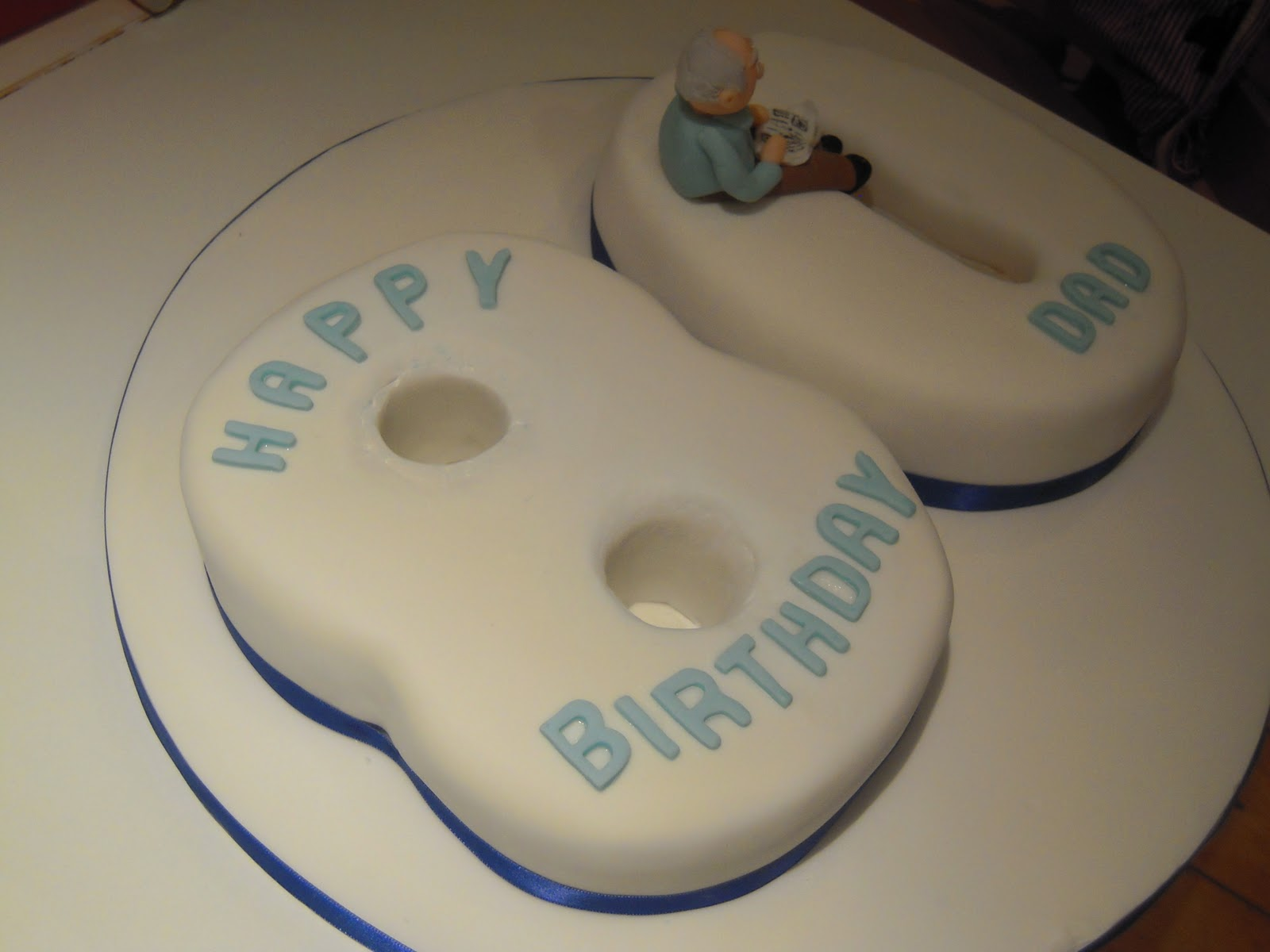 Eileen Atkinsons Celebration Cakes 80th Birthday Cake