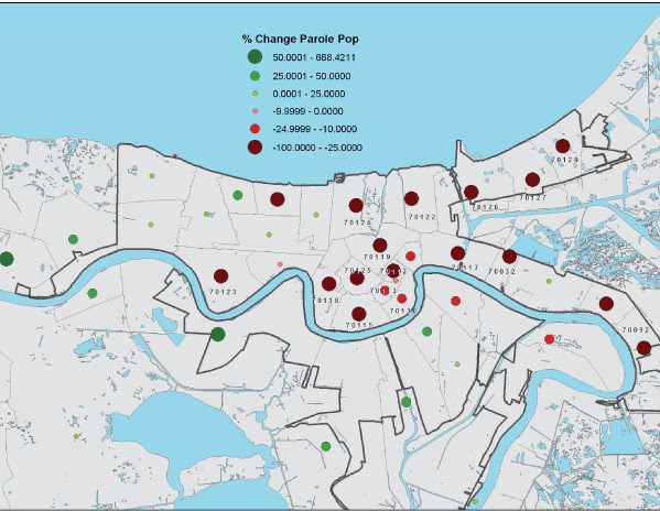 Greater New Orleans Zip Code Map