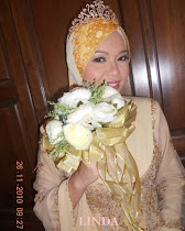 TUDUNG LACE GOLD LINDA