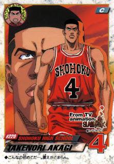 Slam dunk. Takenori+Akagi