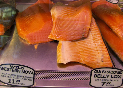 russ and daughters wild western nova lox and old fashioned belly lox