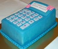 Hesap Makinası Pasta