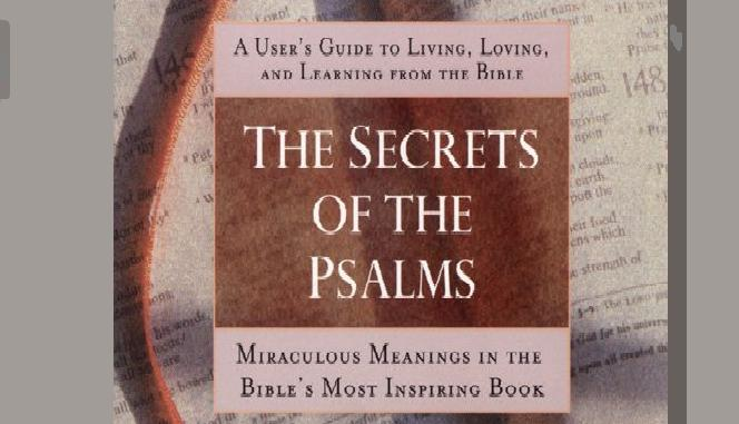 THE SECRETS OF PSALMS