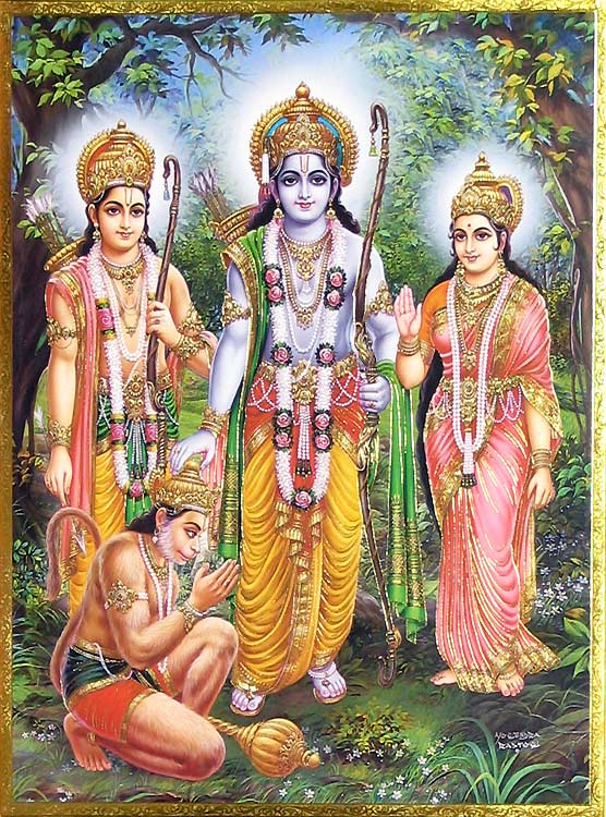 Lord Rama - The Seventh Avatar Of Lord Vishnu