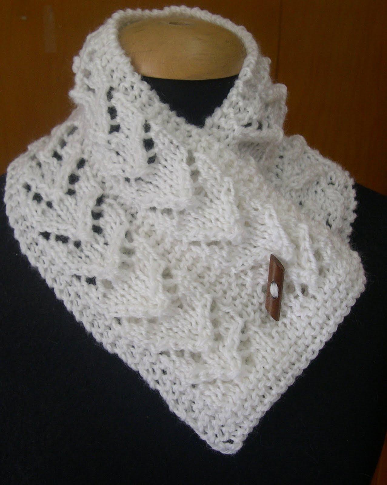 Para el cuello unas mini bufanditas