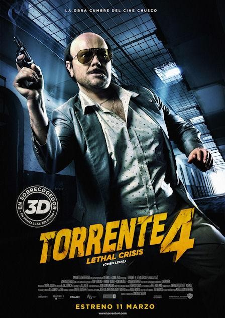 Torrente 4 Crisis Letal | 3gp/Mp4/DVDRip Cast HD Mega
