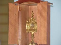 Relíquia contendo 4 lascas de madeira da Cruz de Jesus Cristo