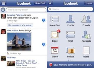 facebook para el iphone