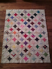 still working on that Cathedral Window quilt