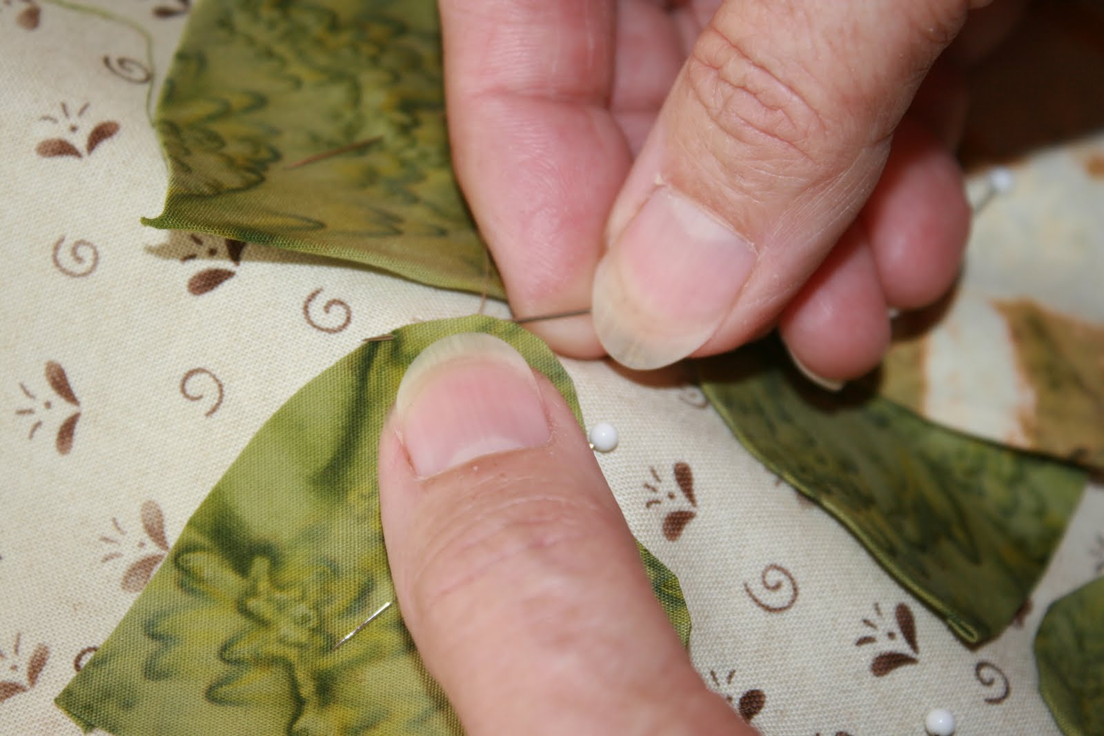 Buzzing and bumbling: tools for applique