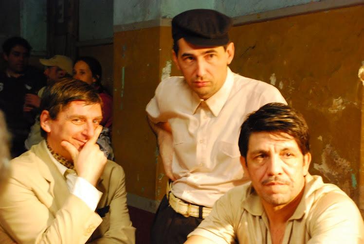Nestor Caniglia , Javier Nicheta,  Victor Hugo Carrizo .