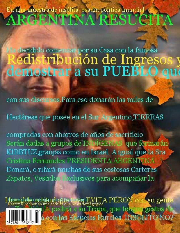 AUNQUE UD NO LO CREA- ARGENTINA ES NOTICIA POR COSAS BUENAS