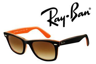 ray ban color naranja