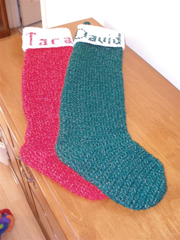 Crochet Pattern Central Christmas Stockings : Crocheting Blind: 2010-11-07