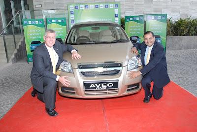 New Chevrolet Aveo CNG