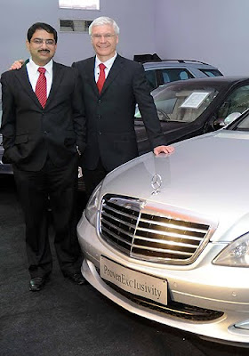 Mercedes-Benz launches global pre-owned cars business in India