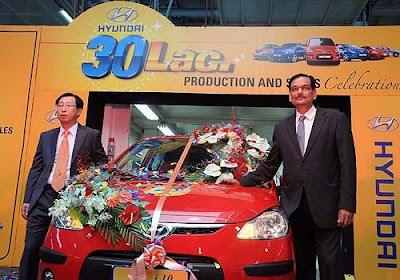 Hyundai Motor touches 30 lakh production & sales milestone