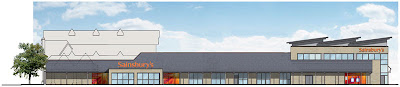 Proposed design for Sainsbury's Lancaster. Image courtesy Sainsbury's.