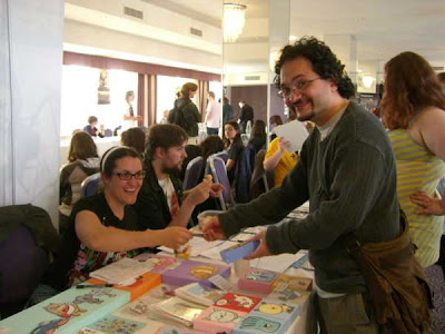 The Small Press Expo at the 2009 Bristol Comics Expo