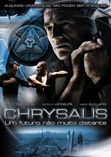 Filme Poster Chrysalis: Um Futuro Não Muito Distante DVDRip XviD & RMVB Dublado