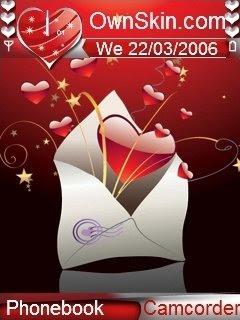 Nokia Mobiles: Love Letter Themes : Nokia N73 Themes