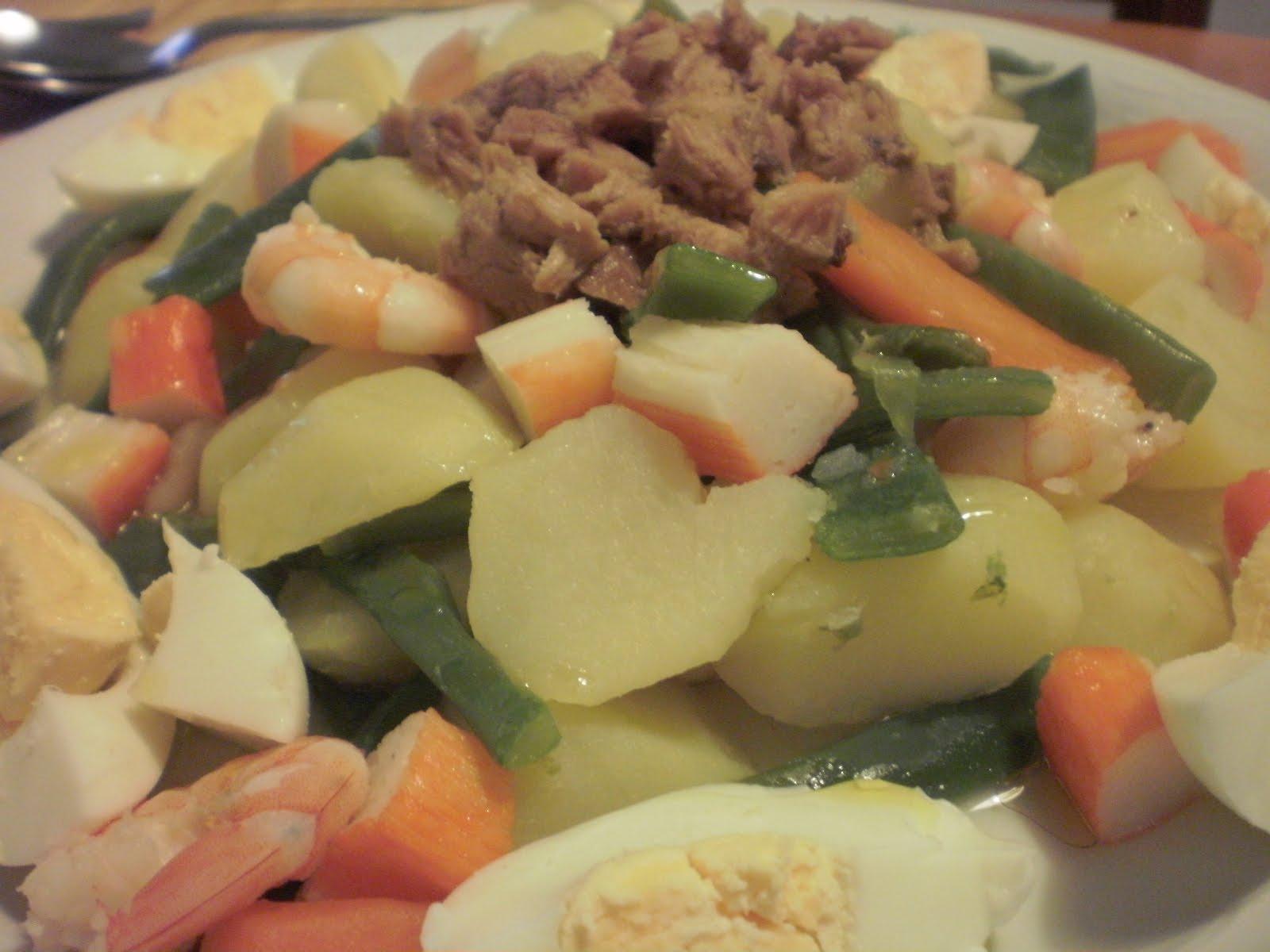 Mi cocina ensalada de verduras al vapor - Como cocinar verduras al vapor ...