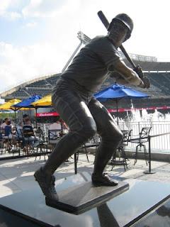 Kauffman stadium statue