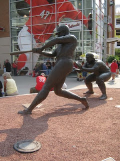 Great american ballpark statue