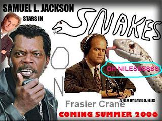 Snakes on Dr Fraser Crane