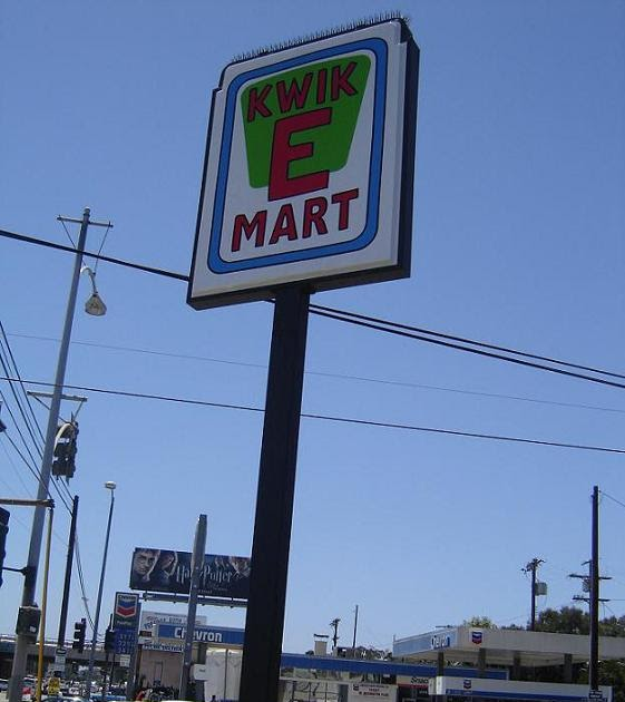 City Of Los Angeles Parking Violation >> Awesome Kwik-E-Mart / Simpsons movie promotion with 'reverse product placement'!