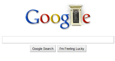 Google doodle logo UK election 2010