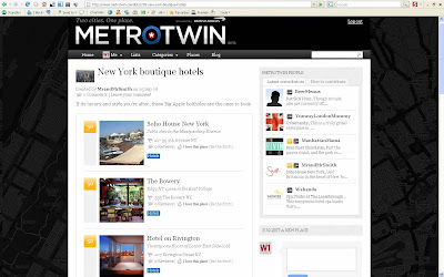 BA MetroTwin New York Hotels