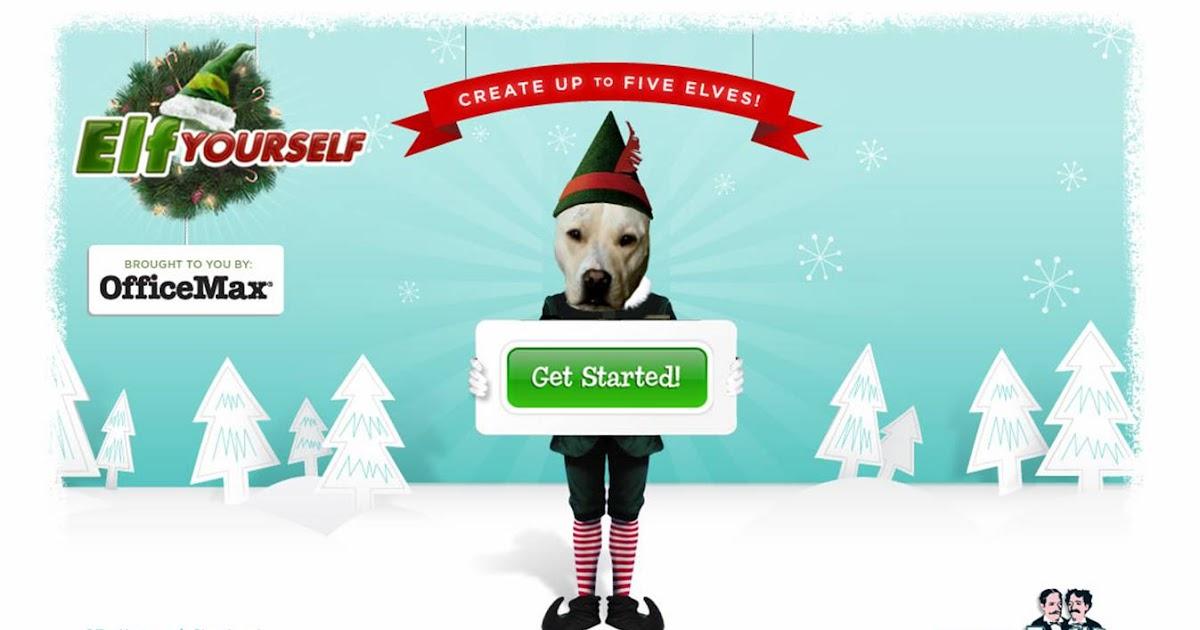 Elf Yourself returns for Christmas 2008 - this time using Jib Jab ...