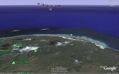 NORAD 3D tracking on Google Earth